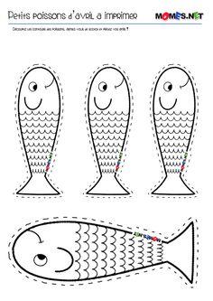 poissons d'avril à imprimer