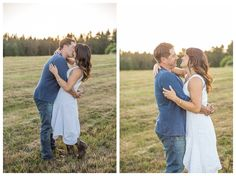 Corey & Jamie Domaine Meriwether Winery Engagement Session