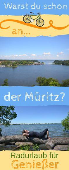 Egal ob für einen Tagestrip, ein verlängertes Wochenende oder einen Radurlaub - die #Müritzregion ist ein wunderschönes #Reiseziel für aktive Leute. Urlaub #Deutschland
