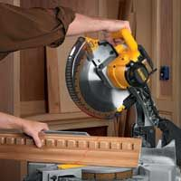 How to Cut Crown Molding | Crown Molding Angles | DEWALT Woodworking Power Tools, Woodworking Shop, Woodworking Projects, Wood Projects, Cut Crown Molding, Wood Molding, Miter Saw Reviews, Wood Working For Beginners, Home Repairs