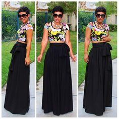 Regal Maxi Is BACK!! NEW Summer Fabric & Floral Crop Top |Fashion, Lifestyle, and DIY