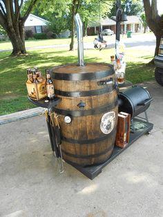 Pap's 2013 Bourbon Barrel Art Auction - Smoker