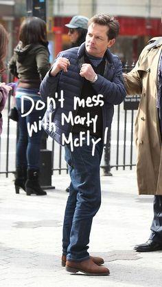 Marty McFly.     Omg cutie!!!!