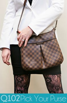 Louis Vuitton - Bloomsbury Damier. Go to wkrq.com to find out how to play Q102's Pick Your Purse!