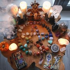 If you're wondering how to be a witch, here's everything a beginner needs to know about witchcraft, covens, and the risks. Witch Alter, Magia Elemental, Witch Room, Witch Coven, Witch Board, Pagan Altar, Baby Witch, Altar Decorations, Witch Aesthetic