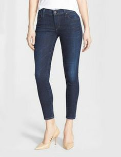CITIZENS OF HUMANITY Skinny Crop Jeans