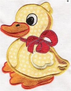 Hey, I found this really awesome Etsy listing at https://www.etsy.com/listing/256341666/lucky-duck-applique-iron-on-machine