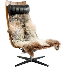 Fjord Fiesta Scandia Senior Easy Chair | From a unique collection of antique and modern lounge chairs at https://www.1stdibs.com/furniture/seating/lounge-chairs/