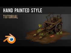 How to hand paint low poly models - Advanced Blender 3d, Green Detox Smoothie, Smoothie Cleanse, Green Smoothies, Juice Cleanse, 3d Tutorial, Digital Art Tutorial, Zbrush, Animation Tutorial