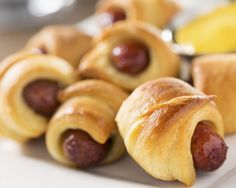 These twisted sausage rolls are bound to be a winner with your kids!