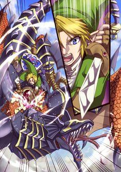 Link -The Legend of Zelda via Pixiv