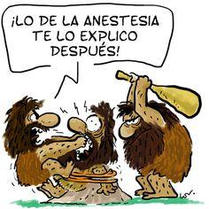 EFEHUMÓRIDES: Primera extracción dental ¡con anestesia!