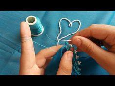 BU BÖREĞİN YAPILIŞINA İNANAMAYACAKSINIZ KATLARI TEK TEK SAYILIYOR ✅SADECE 1 BEZE İLE YAPTIM 💯 - YouTube Plastic Canvas Stitches, Embroidery Stitches Tutorial, Burlap Table Runners, Crochet Videos, Decoupage, Projects To Try, Diy Crafts, Beaded Jewelry, Drop Earrings