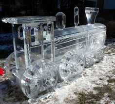 Lokomotiva * z ledu