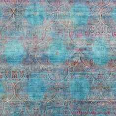 Aquasilk Overdyed Rug - 7 10 x 8