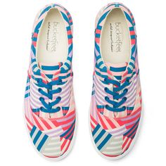 Patchwork Sneakers (print designed by Meryl Rose-Phillips)
