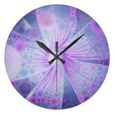 Floral Mosaic Clocks