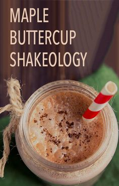 If you're craving something sweet in the morning, whip up one of these shakes instead of pancakes or waffles. It's made with maple syrup, so you still get that yummy breakfast flavor, and a touch of peanut butter makes it extra creamy. Click through to get the recipe! // Thirsty Thursday // Shakeology // recipes // Beachbody // BeachbodyBlog.com