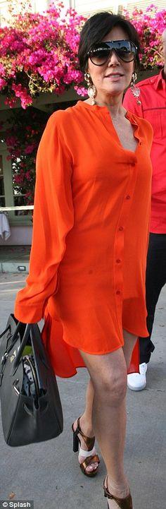 there's no shortage of Kardashian orange