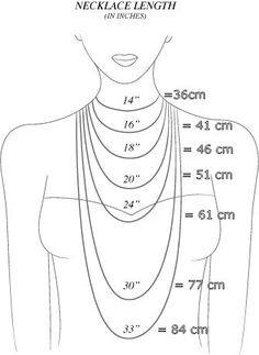 DIY Jewelry Legendary Beads: Anchor Bracelet, various other tutorials Necklaces length. Good to know!- Great for helping DIY jewelry making.- Jewelry Making Bijoux Diy, Necklace Lengths, Necklace Sizes, Necklace Length Chart, Necklace Chart, Necklace Guide, Good To Know, Beaded Jewelry, Diy Jewelry