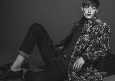 Roberto Sipos Models Choice Fall Fashions for Hello Mr