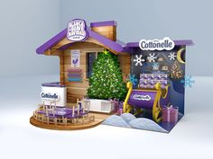 Stand Cottonelle on Behance