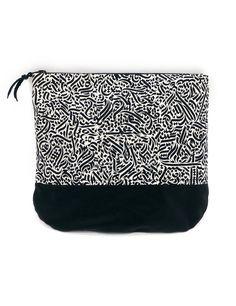 Kosmetik Tasche. Beauty bag pouch. Die von ColorblindPatterns