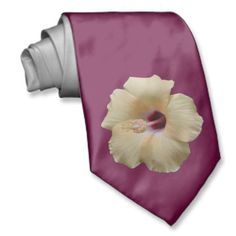 Elegant Hibiscus Flower Neckties for cool guys. This mauve colored neck tie is double sided. Yellow Hibiscus, Hibiscus Flowers, Neck Ties, Mauve Color, Purple Fashion, Pretty Patterns, Sentimental Gifts, Floral Wedding, Wedding Gifts