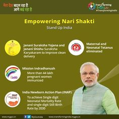 Indian Government is empowering #NariShakti with various progressive initiatives to tap the huge untapped potential of gritty Indian Women. #HarsimratKaurBadal #AkaliDal #YouthAkaliDal