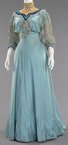 Jeanne Paquin - Robe de Jour - Soie - 1906-1908