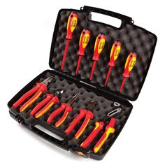 Knipex 1,000V Insulated 10 Pc Tool Set - Tools - Tool Sets - Electricians Tool Sets