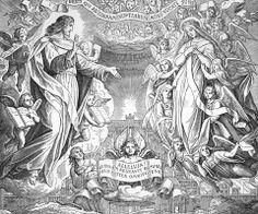 Bilder der Bibel - Johannes erblickt das neue Jerusalem  mystieke huwelijk Christus en de bruid