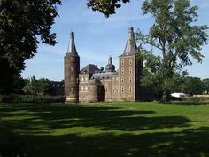 Hoensbroek Castle - Click image to find more Travel Pinterest pins