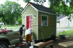 Minister Crowdfunding a 'Village' of Micro-Homes for the Homeless - http://www.tinyhouseliving.com/minister-crowdfunding-a-village-of-micro-homes-for-the-homeless/