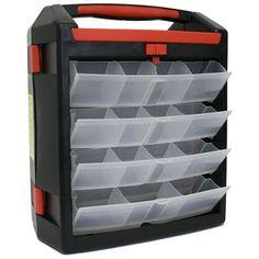 PVC organizér, 30 zásuvek, 350 x 320 x 170 mm, 239154
