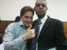 Com o Bispo Marcelo Crivella.