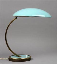 Christian Dell. Kaiser bordlampe, model 6751. #Danish #Design #lamp