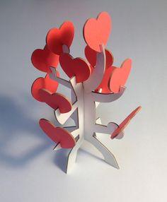I loved you yesterday Laser Gravé MDF en Bois Valentine Coeur Plaque
