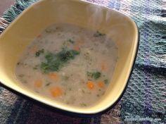 Receita de Sopa de aveia e legumes - Fácil - 7 passos