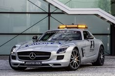 Mercedes SLS safety car