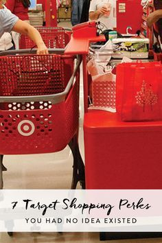 7 shopping perks offered by Target that will completely change the way you shop.