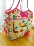 Lots of sewing tutorials, mostly bags.