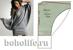 Читать на сайте Nebka.ru Большая подборка Бохо или богемские выкройки, эскизы одежды