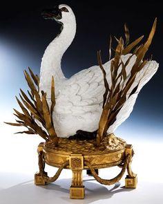 #meissen #porcelain swan c. 1780