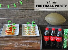 gallamore west: Classic Football Party! #PrepareToParty with these delicious, simple, inexpensive Big Game ideas! #ad #cbias