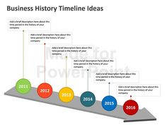 This 20-slide PowerPoint Business Timeline Template features professionally drawn illustrations of timeline in assorted styles. The collection allows users to create a wide range of timelines including business history timeline, corporate history timeline, project timeline, event planning timeline, wedding timeline and much more. You can customize the slides to suit your presentation by altering the colors and inserting relevant text and data. Save time by building upon these vector…