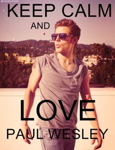 Paul Wesley <3