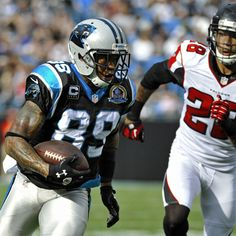 Steve Smith helped lead the Panthers to victory with 7 receptions for 109 yards against the Falcons.