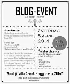 BLOG EVENT | Will you become the 2014 Villa ArenA blogger