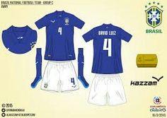 Brazil away kit for the 2015 Copa America xxx
